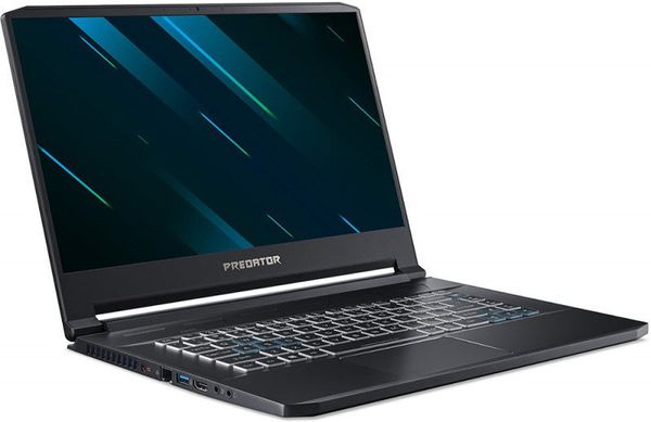 "Laptop Gaming Acer Predator Triton 500 PT515-51 (Procesor Intel® Core™ i7-9750H (12M Cache, up to 4.50 GHz), Coffee Lake, 15.6"" FHD, 16GB, 1TB SSD, nVidia GeForce RTX 2070 @8GB, Win10 Home, Negru) 1"
