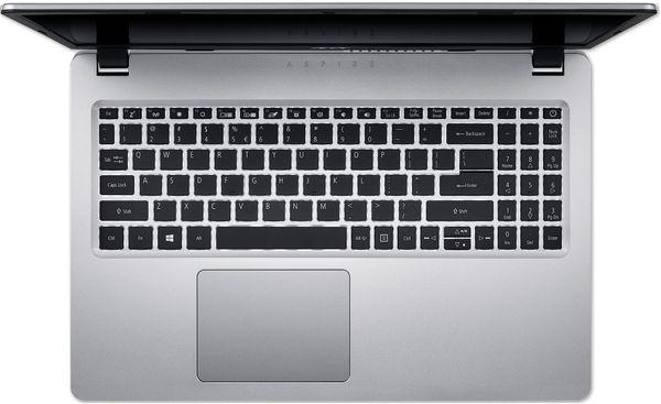 "Laptop Acer Aspire A515-53G, Intel® Core™ i5-8265U (6M Cache, up to 3.90 GHz), Whiskey Lake, 15.6"" FHD, 8GB, 256GB SSD, nVidia GeForce MX130 @2GB, Linux, Argintiu, NX.H84EX.00E 3"