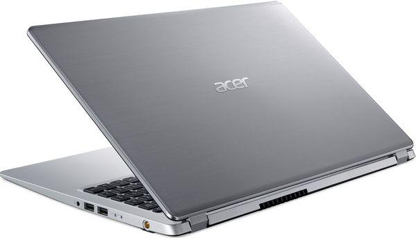 "Laptop Acer Aspire A515-53G, Intel® Core™ i5-8265U (6M Cache, up to 3.90 GHz), Whiskey Lake, 15.6"" FHD, 8GB, 256GB SSD, nVidia GeForce MX130 @2GB, Linux, Argintiu, NX.H84EX.00E 4"