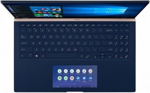 "Ultrabook Asus ZenBook UX534FT-A9004R (Procesor Intel® Core™ i7-8565U (8M Cache, up to 4.60 GHz), Whiskey Lake, 15.6"" FHD, 16GB, 1TB SSD, nVidia GeForce GTX 1650 @4GB, FPR, Win10 Pro, Albastru) 6"
