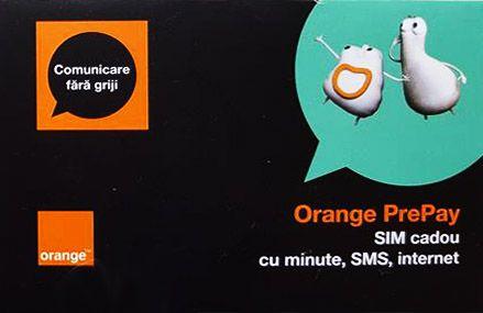 CARTELA SIM ORANGE PREPAY, 6 EURO CREDIT [0]