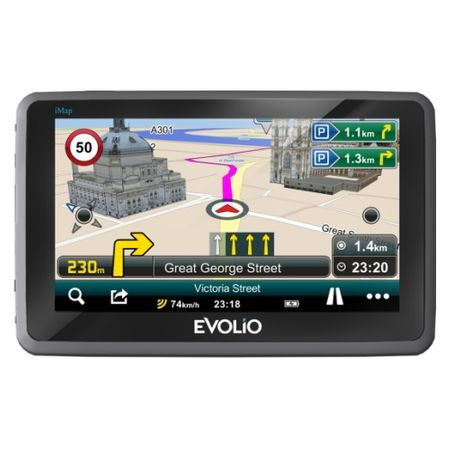 "Resigilat - Sistem de navigatie Evolio Preciso HD, diagonala 5.0"", harta Full Europe [1]"
