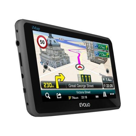 "Resigilat - Sistem de navigatie Evolio Preciso HD, diagonala 5.0"", harta Full Europe [2]"