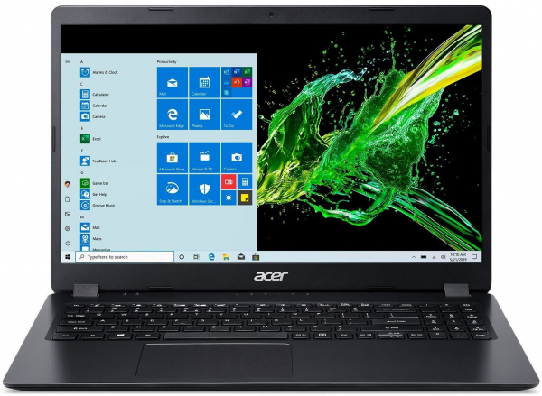 Laptop Acer Aspire 3 A315-56-594W, 15.6 FullHD, Intel Core (10th Gen) i5-1035G, RAM 8 GB, 256GB SSD , Win10 Home, Steel Grey, NX.A0TAA.005 0