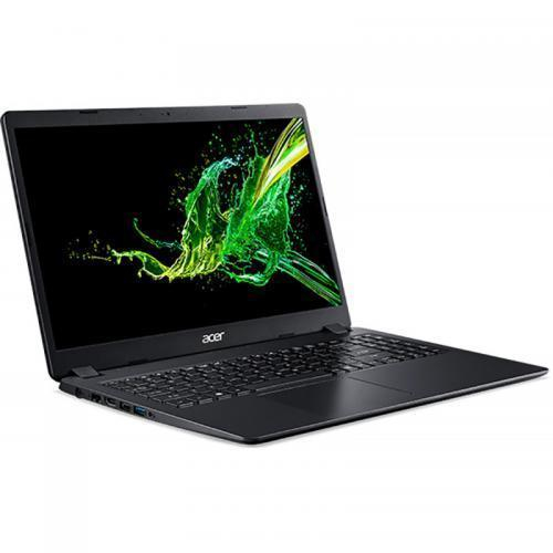 Laptop Acer Aspire 3 A315-54K, Intel Core i3-8130U, 15.6inch, RAM 4GB, SSD 256GB, Intel UHD Graphics 620, Linux, Shale Black 1