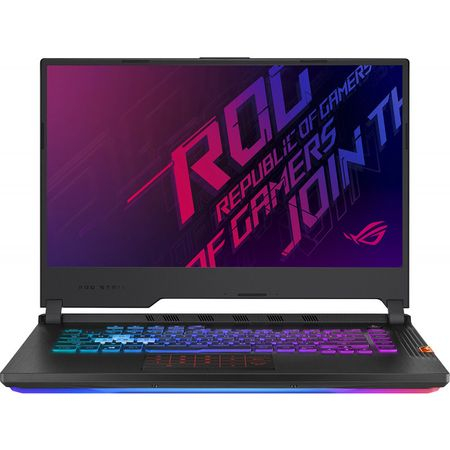 Laptop ASUS Gaming 15.6'' ROG Strix Hero III G531GV-ES001, FHD 144Hz, Procesor Intel® Core™ i7-9750H (12M Cache, up to 4.50 GHz), 8GB DDR4, 512GB SSD, GeForce RTX 2060 6GB, No OS, Black 1