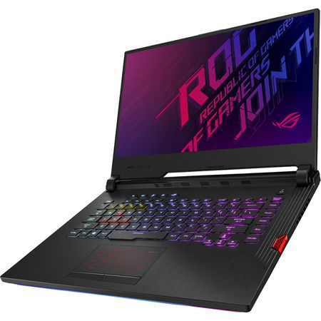 Laptop ASUS Gaming 15.6'' ROG Strix Hero III G531GV-ES001, FHD 144Hz, Procesor Intel® Core™ i7-9750H (12M Cache, up to 4.50 GHz), 8GB DDR4, 512GB SSD, GeForce RTX 2060 6GB, No OS, Black 3