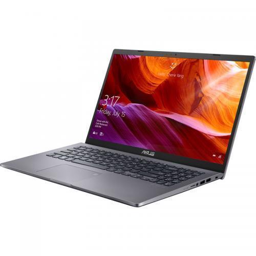 "Laptop ASUS M509DA-EJ345, AMD Ryzen 3 3250U pana la 3.5GHz, 15.6"" Full HD, 4GB, SSD 256GB, Intel HD Graphics 520, Free DOS, gri 4"