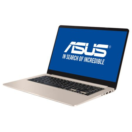 Laptop Asus S510UQ-BQ204, Intel Core i7-7500U, 8GB DDR4, SSD 256GB, nVidia Geforce 940MX 2GB, Endless OS 9