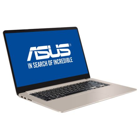 Laptop Asus S510UQ-BQ204, Intel Core i7-7500U, 8GB DDR4, SSD 256GB, nVidia Geforce 940MX 2GB, Endless OS 6