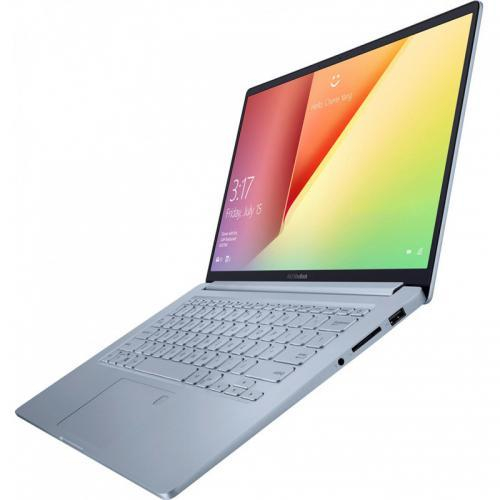 "Laptop ASUS VivoBook 14 X403JA-BM005 cu procesor Intel® Core™ i5-1035G1 pana la 3.60 GHz, 14"", Full HD, 8GB, 512GB SSD, Intel® UHD Graphics, Endless OS, Silver Blue 2"