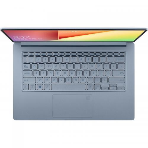 "Laptop ASUS VivoBook 14 X403JA-BM005 cu procesor Intel® Core™ i5-1035G1 pana la 3.60 GHz, 14"", Full HD, 8GB, 512GB SSD, Intel® UHD Graphics, Endless OS, Silver Blue 1"