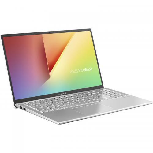 Laptop Asus VivoBook 15 X512DA-EJ1391, AMD Ryzen 3 3250U, 15.6inch, RAM 8GB, SSD 256GB, AMD Radeon Vega 3, No OS, Transparent Silver 1