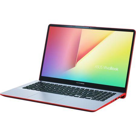 "Laptop ASUS VivoBook S15 S530UF-BQ048 cu procesor Intel® Core™ i5-8250U pana la 3.40 GHz, Kaby Lake R, 15.6"", Full HD, 8GB, 256GB SSD, NVIDIA GeForce MX130 2GB, Endless OS, Star Grey with Red Trim 1"