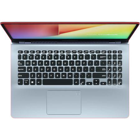 "Laptop ASUS VivoBook S15 S530UF-BQ048 cu procesor Intel® Core™ i5-8250U pana la 3.40 GHz, Kaby Lake R, 15.6"", Full HD, 8GB, 256GB SSD, NVIDIA GeForce MX130 2GB, Endless OS, Star Grey with Red Trim 3"