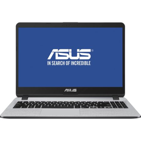 "Laptop ASUS X507UA-EJ830 cu procesor Intel® Core™ i7-8550U pana la 4.00 GHz, Kaby Lake R, 15.6"", Full HD, 8GB, 256GB SSD, Intel® UHD Graphics 620, Endless OS, Star Grey 0"