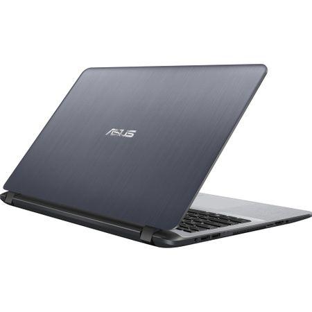 "Laptop ASUS X507UA-EJ830 cu procesor Intel® Core™ i7-8550U pana la 4.00 GHz, Kaby Lake R, 15.6"", Full HD, 8GB, 256GB SSD, Intel® UHD Graphics 620, Endless OS, Star Grey 10"