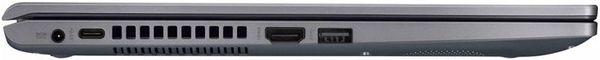 """Laptop ASUS X509JA-EJ025R cu procesor Intel® Core™ i3-1005G1 pana la 3.40 GHz, 15.6"""", Full HD, 4GB, 256GB SSD, Intel® UHD Graphics, Windows 10 Pro, Slate Gray 5"""
