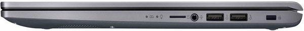 """Laptop ASUS X509JA-EJ025R cu procesor Intel® Core™ i3-1005G1 pana la 3.40 GHz, 15.6"""", Full HD, 4GB, 256GB SSD, Intel® UHD Graphics, Windows 10 Pro, Slate Gray 6"""