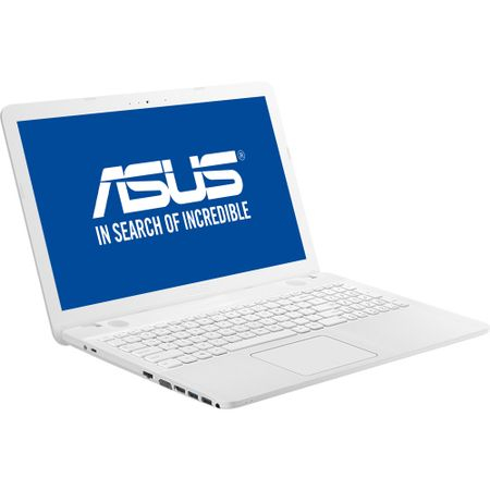 "Laptop ASUS X541NA cu procesor Intel® Celeron® N3350 pana la 2.40 GHz, 15.6"", 4GB, 500GB, Intel® HD Graphics 500, Endless OS, White 1"