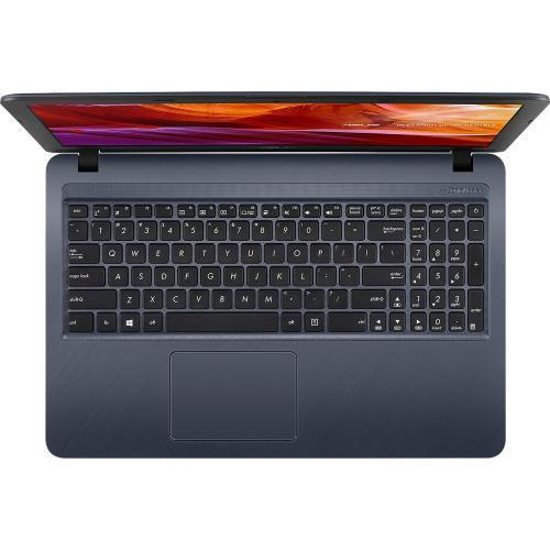 Laptop Asus X543MA, Intel Celeron Dual Core N4000, 15.6inch, RAM 4GB, SSD 256GB, Intel UHD Graphics 600, Windows 10, Star Gray, X543MA-GQ873T 0