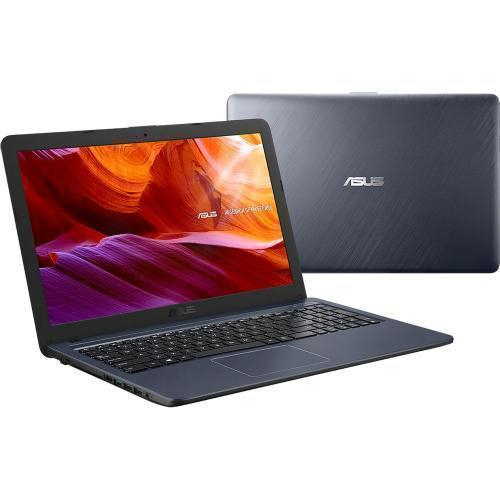 Laptop Asus X543MA, Intel Celeron Dual Core N4000, 15.6inch, RAM 4GB, SSD 256GB, Intel UHD Graphics 600, Windows 10, Star Gray, X543MA-GQ873T 1