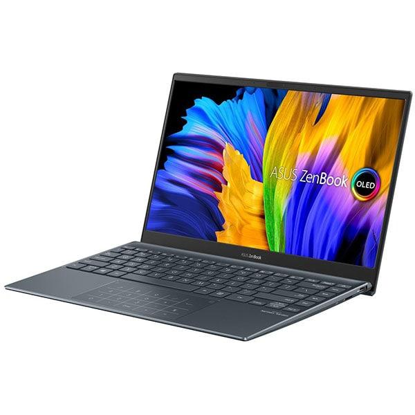"Laptop ASUS ZenBook 13 UM325UA-KG020T, AMD Ryzen 5 5500U pana la 4GHz, 13.3"" Full HD, 8GB, SSD 512GB, AMD Radeon RX Vega 7, Windows 10 Home, gri 4"