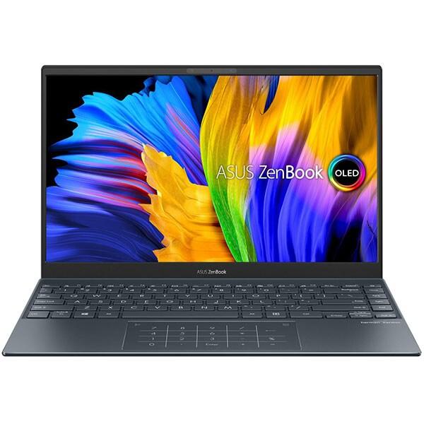 "Laptop ASUS ZenBook 13 UM325UA-KG020T, AMD Ryzen 5 5500U pana la 4GHz, 13.3"" Full HD, 8GB, SSD 512GB, AMD Radeon RX Vega 7, Windows 10 Home, gri 2"