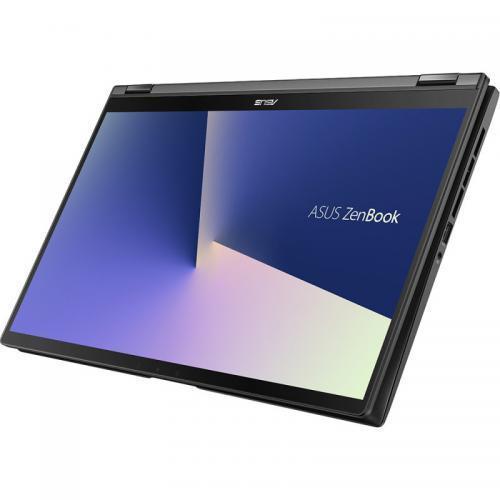 Laptop ASUS ZenBook Flip 15 UX563FD-EZ087R, Intel Core i7-10510U, 15.6inch Touch, RAM 16GB, SSD 1TB, nVidia GeForce GTX 1050 4GB, Windows 10 Pro, Gun Grey 2