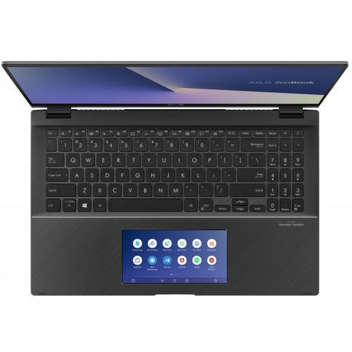 Laptop ASUS ZenBook Flip 15 UX563FD-EZ087R, Intel Core i7-10510U, 15.6inch Touch, RAM 16GB, SSD 1TB, nVidia GeForce GTX 1050 4GB, Windows 10 Pro, Gun Grey 8