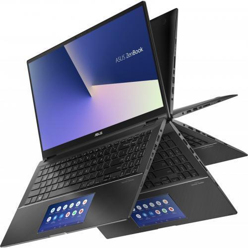 Laptop ASUS ZenBook Flip 15 UX563FD-EZ087R, Intel Core i7-10510U, 15.6inch Touch, RAM 16GB, SSD 1TB, nVidia GeForce GTX 1050 4GB, Windows 10 Pro, Gun Grey 1