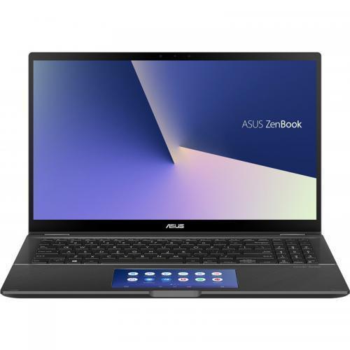 Laptop ASUS ZenBook Flip 15 UX563FD-EZ087R, Intel Core i7-10510U, 15.6inch Touch, RAM 16GB, SSD 1TB, nVidia GeForce GTX 1050 4GB, Windows 10 Pro, Gun Grey 0