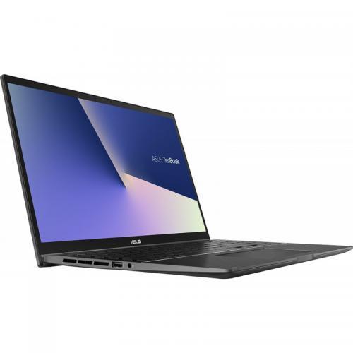Laptop ASUS ZenBook Flip 15 UX563FD-EZ087R, Intel Core i7-10510U, 15.6inch Touch, RAM 16GB, SSD 1TB, nVidia GeForce GTX 1050 4GB, Windows 10 Pro, Gun Grey 5