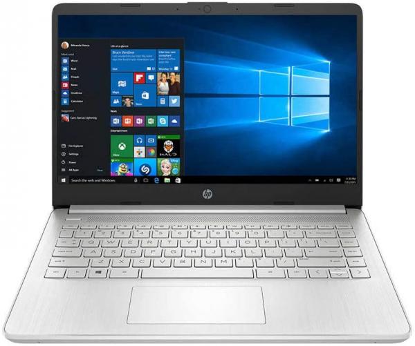 "Laptop HP 14-DQ1077 cu procesor Intel® Core™ i3-1005G1 pana la 3.40 GHz, 14"", Full HD, 8GB, 256GB SSD, Intel® UHD Graphics, Windows 10 Home, Silver, 2S8G4UA 0"