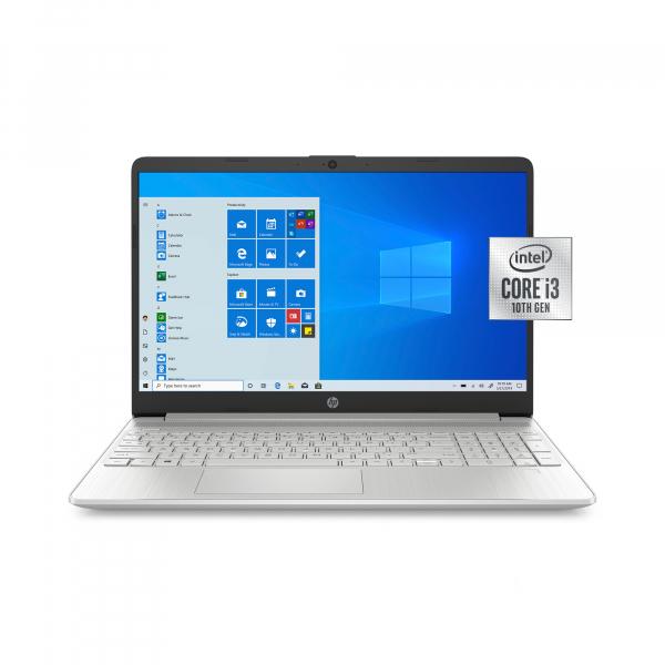 Resigilat - Laptop HP 15-DY1091WM, 15.6'', HD, Intel® Core™ i3-1005G1 (4M Cache, up to 3.40 GHz), 8GB DDR4, 256GB SSD, Intel UHD, Windows 10, Silver, 1F8Z8UA 0