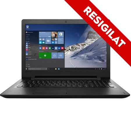 "Laptop Lenovo IdeaPad 110-15IBR cu procesor Intel® Pentium™ N3710 pana la 2.56 GHz, 15.6"", 4GB, 500GB, Intel HD Graphics, Microsoft Windows 10 Home, Black 0"
