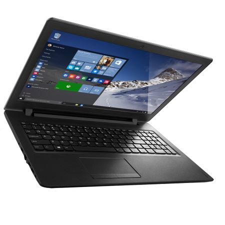 "Laptop Lenovo IdeaPad 110-15IBR cu procesor Intel® Pentium™ N3710 pana la 2.56 GHz, 15.6"", 4GB, 500GB, Intel HD Graphics, Microsoft Windows 10 Home, Black 2"