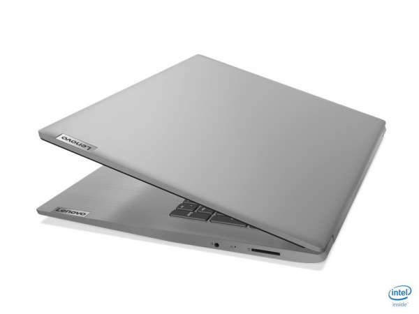 "Laptop Lenovo Ideapad 3 17IML05 cu procesor Intel Core i5-10210U pana 1.6GHz GHz, 17,3"", HD, 8GB, 512GB SSD, Intel UHD Graphics, Windows 10 Home, Platinium-Silver, 81WC000CMH 1"