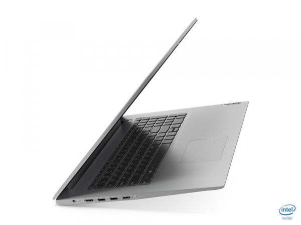 "Laptop Lenovo Ideapad 3 17IML05 cu procesor Intel Core i5-10210U pana 1.6GHz GHz, 17,3"", HD, 8GB, 512GB SSD, Intel UHD Graphics, Windows 10 Home, Platinium-Silver, 81WC000CMH 2"