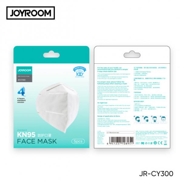 Masca protectie fata, cu 4 straturi ffp2, KN95 8
