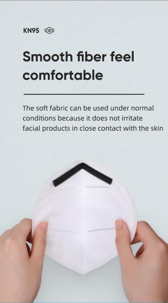 Masca protectie fata, cu 4 straturi ffp2, KN95 7