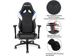 Scaun gaming Anda Seat Assassin King Series, Blue-Black AD4XL-03-BWS-PV 4
