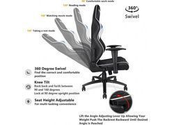 Scaun gaming Anda Seat Assassin King Series, Blue-Black AD4XL-03-BWS-PV 5
