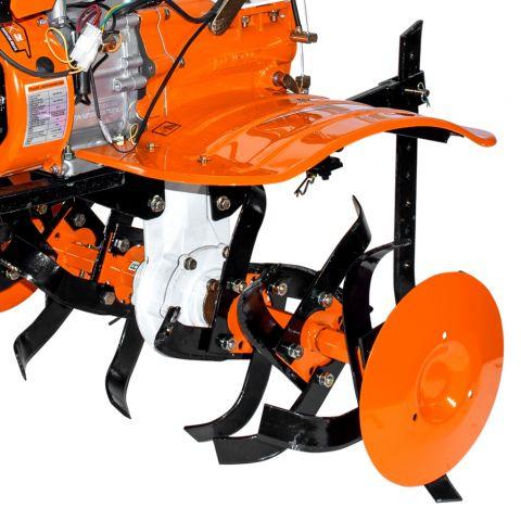 Motosapatoare RURIS 732ACC + roti cauciuc 5.00-8+rarita+plug+adaptor+dispozitiv scos cartofi+roti metalice 400 fara manicot+cultivator, 7322021acc 3