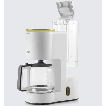 Cafetiera Beko Foodster FCM1321W, 1000W, capacitate 10 cesti, functie ajustare aroma, oprire automata, Alb 1