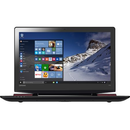 "Laptop Gaming Lenovo IdeaPad Y700-15 (80NV00TURI) cu procesor Intel® Core™ i7-6700HQ 2.60GHz, Skylake, 15.6"", Full HD, IPS, 16GB, 1TB + 512GB SSD, DVD-RW, nVIDIA GeForce GTX 960M 4GB, Microsoft Windows 10 Home, Black 2"