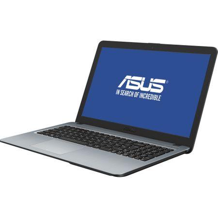 "Laptop ASUS X540MA cu procesor Intel® Celeron® N4000 pana la 2.6 GHz, 15.6"", Full HD, 4GB, 500GB HDD, Intel UHD Graphics 600, Endless OS, Silver Gradient (X540MA-GO358) 1"