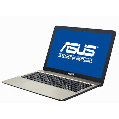 "Resigilat - Laptop ASUS A541NA-GO180 cu procesor Intel® Celeron® N3350 pana la 2.40 GHz, 15.6"", 4GB, 500GB, DVD-RW, Intel® HD Graphics 500, Endless OS, Chocolate Black 1"