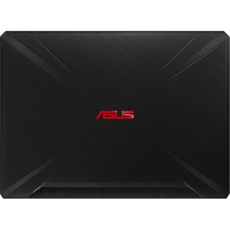 "Laptop Gaming ASUS TUF FX505GD-BQ125 cu procesor Intel® Core™ i7-8750H pana la 4.10 GHz, Coffee Lake, 15.6"", Full HD, IPS, 8GB, 1TB Hybrid FireCuda, NVIDIA GeForce GTX 1050 4GB, Free DOS, Black 8"