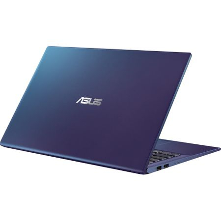 "Laptop ASUS X512FA-EJ991 cu procesor Intel® Core™ i3-8145U pana la 3.9 GHz, 15.6"", Full HD, 4GB, 256GB SSD M.2, Intel UHD Graphics 620, Free DOS, PEACOCK BLUE 9"